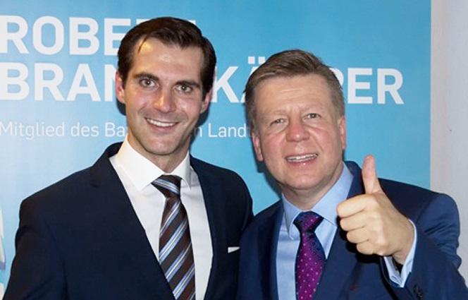 Ein starkes Team: Die Kandidaten Robert Brannekämper, MdL (r.) und Peter Reinhardt (l.)